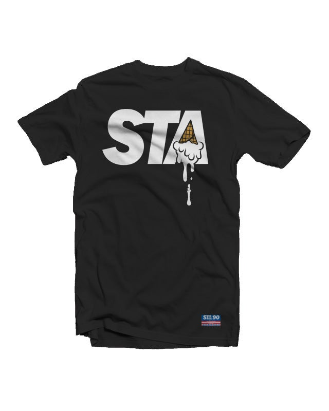 Image of STA Classic Logo Tee Black