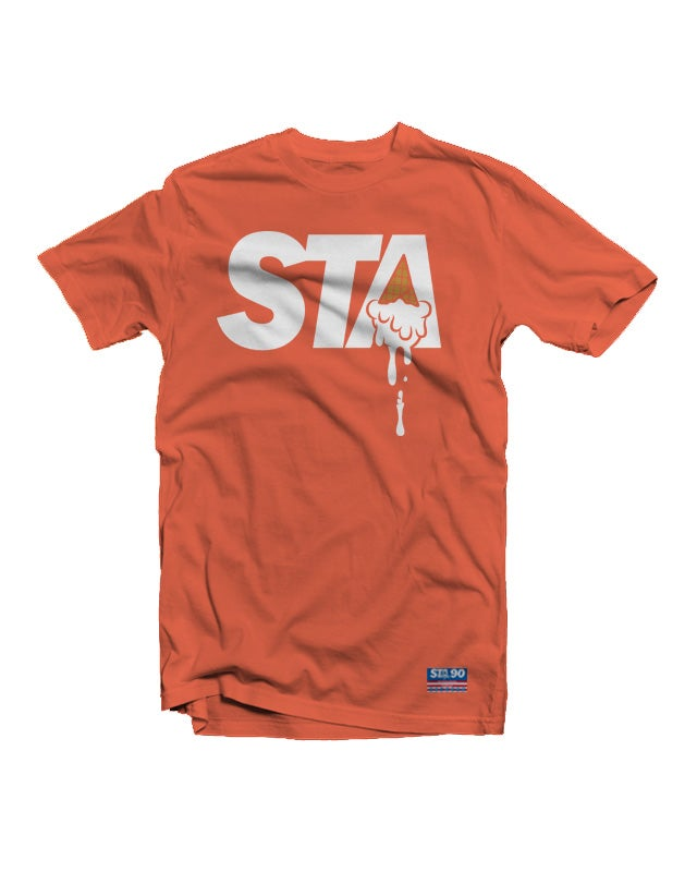 Image of STA Classic Logo Tee Coral