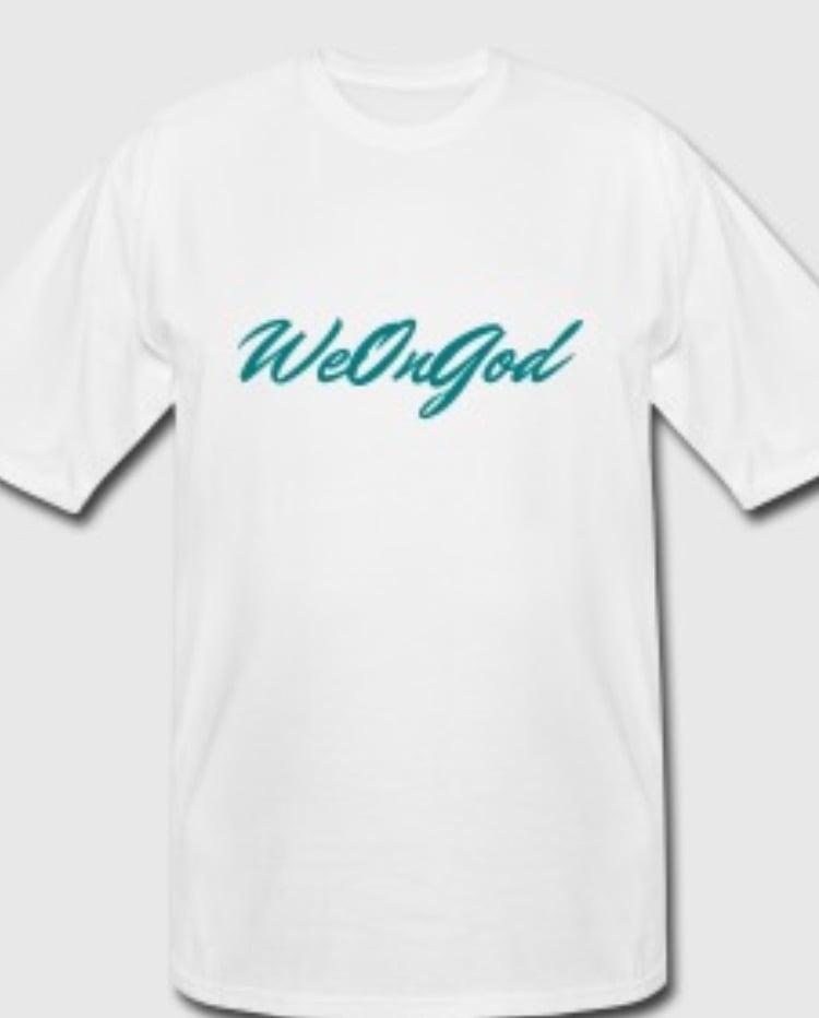 Image of We On God © - T shirt | Original Blue