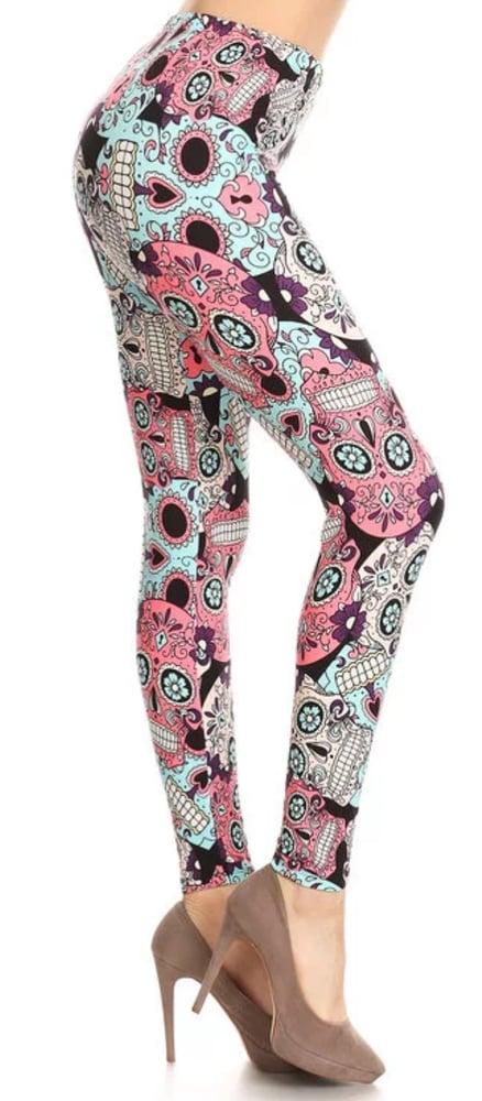 31ec780082369 Sugar Skulls / Girly Girl Leggings