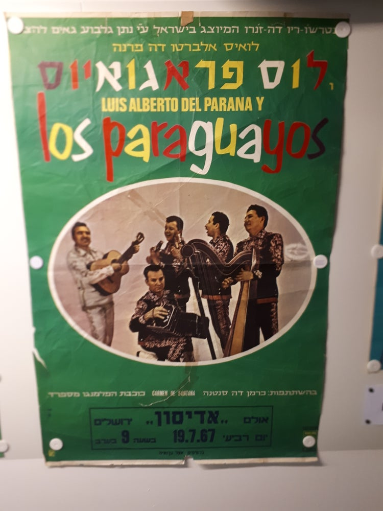 Image of Los Paraguayos Poster