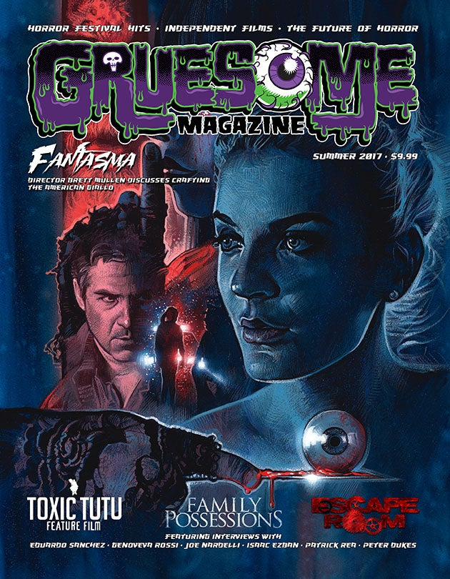 Image of Gruesome Magazine Summer 2017 Print Edition