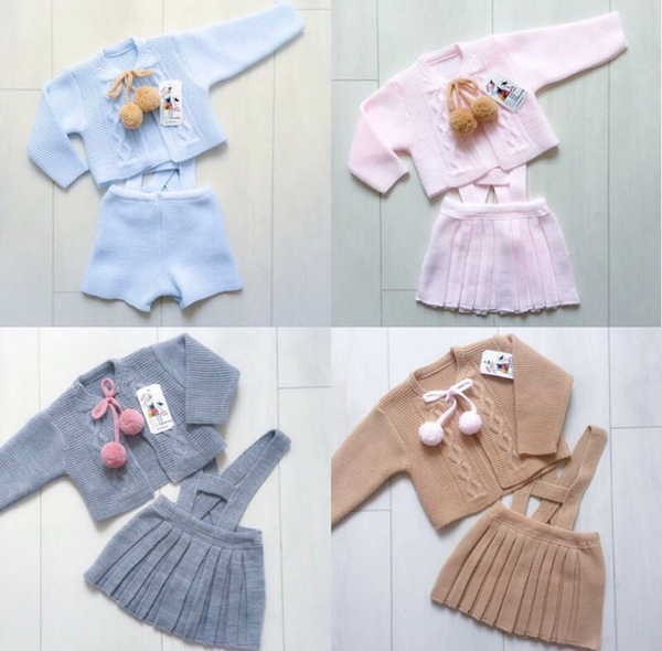Image of Two piece knitted sets - Various colours