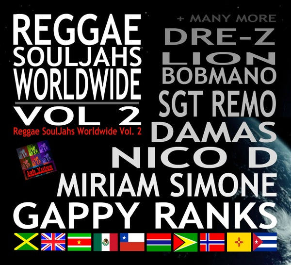 Image of Reggae SoulJahs Worldwide Vol. 2 Compilation (format CD)
