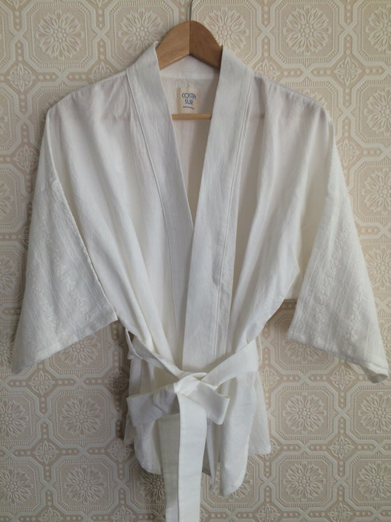 Image of COSTA SUR- Gauze Wrap Top