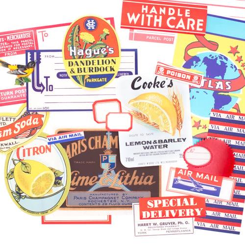 Image of Vintage Label Pack