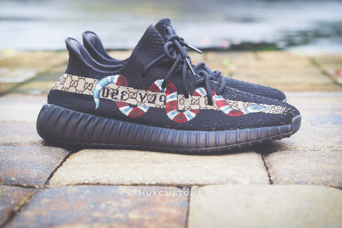 Image of Yeezy Snake Custom (painting service only)