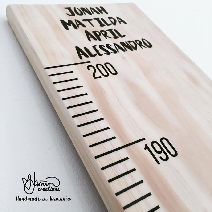 Image of Giant Ruler Growth Chart