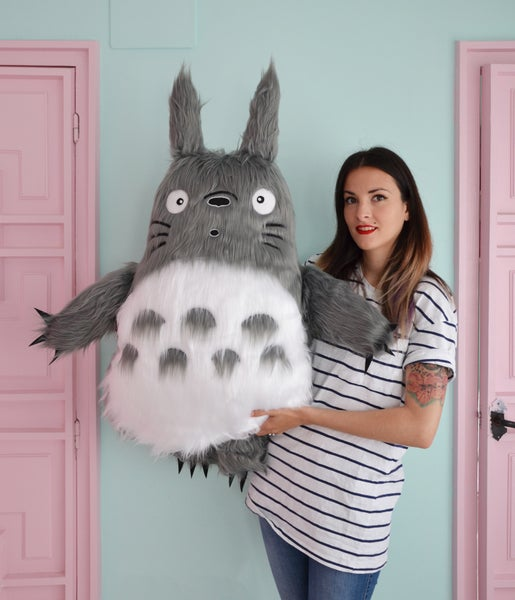 Image of Totoro plush toy