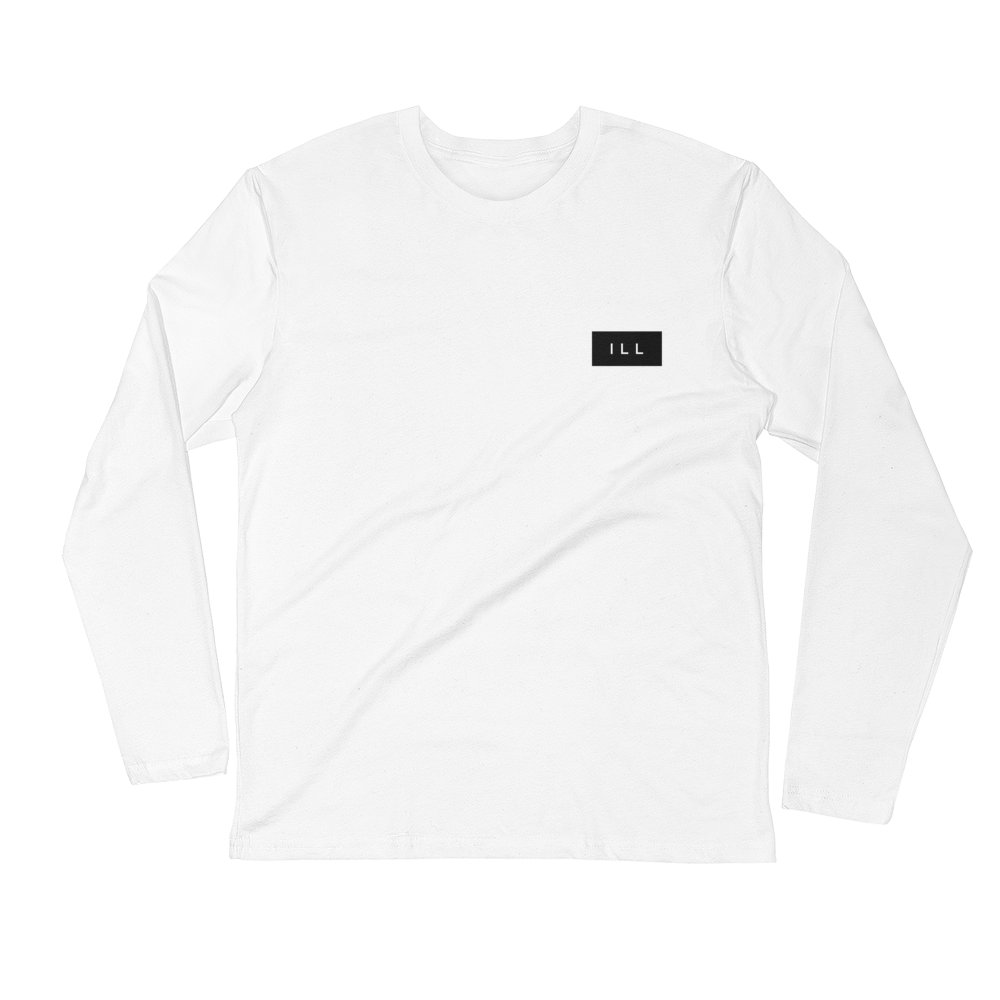 b100227fdee6 Image of Ill Concept White Long-Sleeve Tee