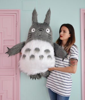 Image of Totoro plush toy