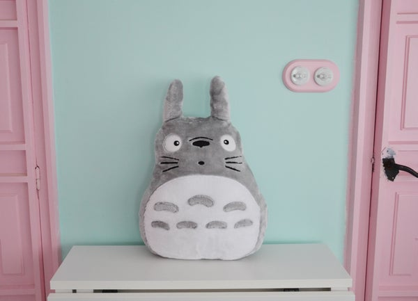 Image of Totoro plush toy (short hair)