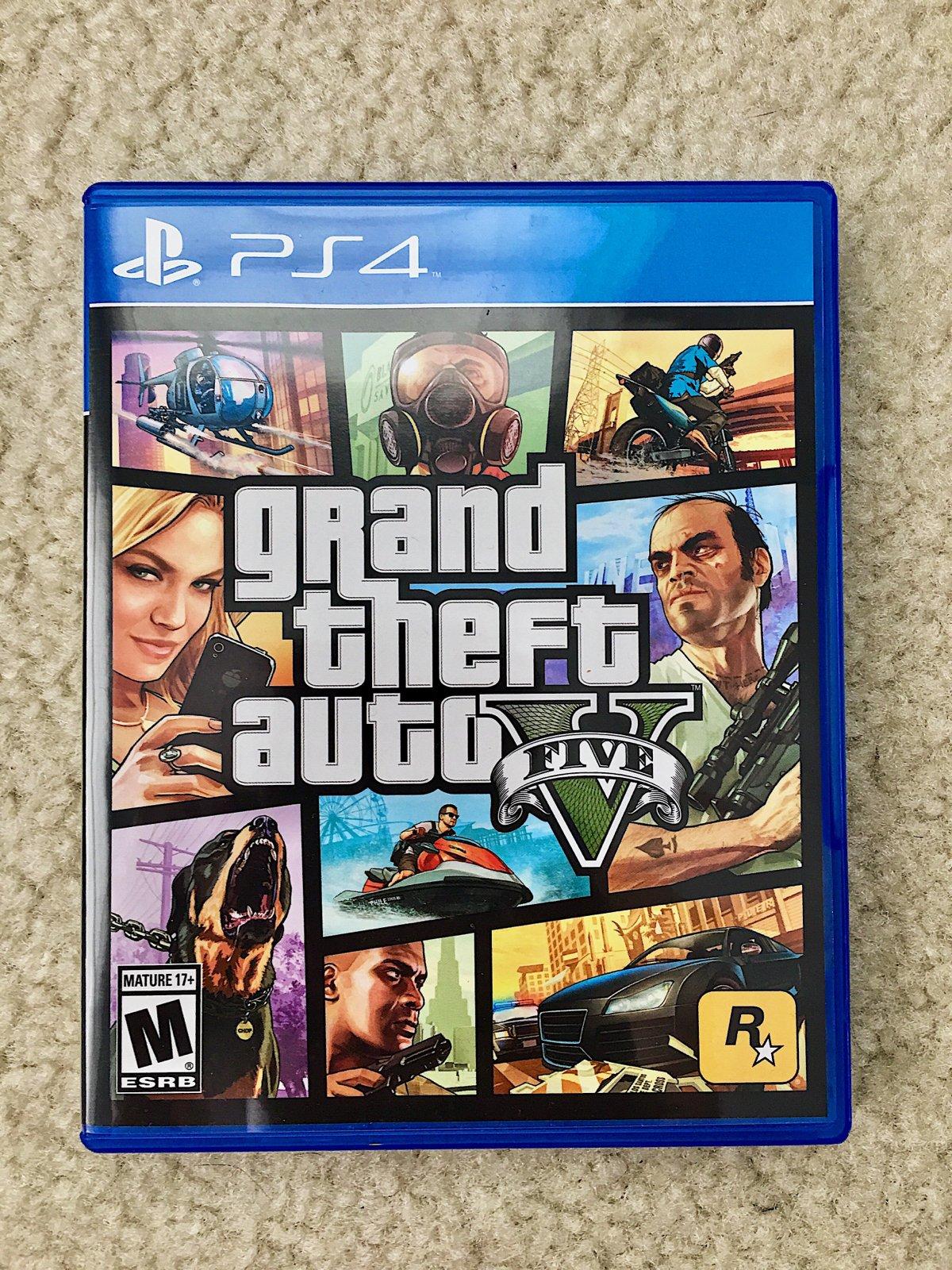 0cdcd04e659 Grand Theft Auto 5 (PS4) | CraftsDesign