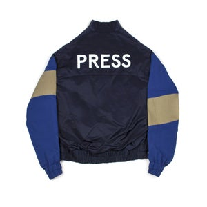 Image of Press Windbreaker Blue