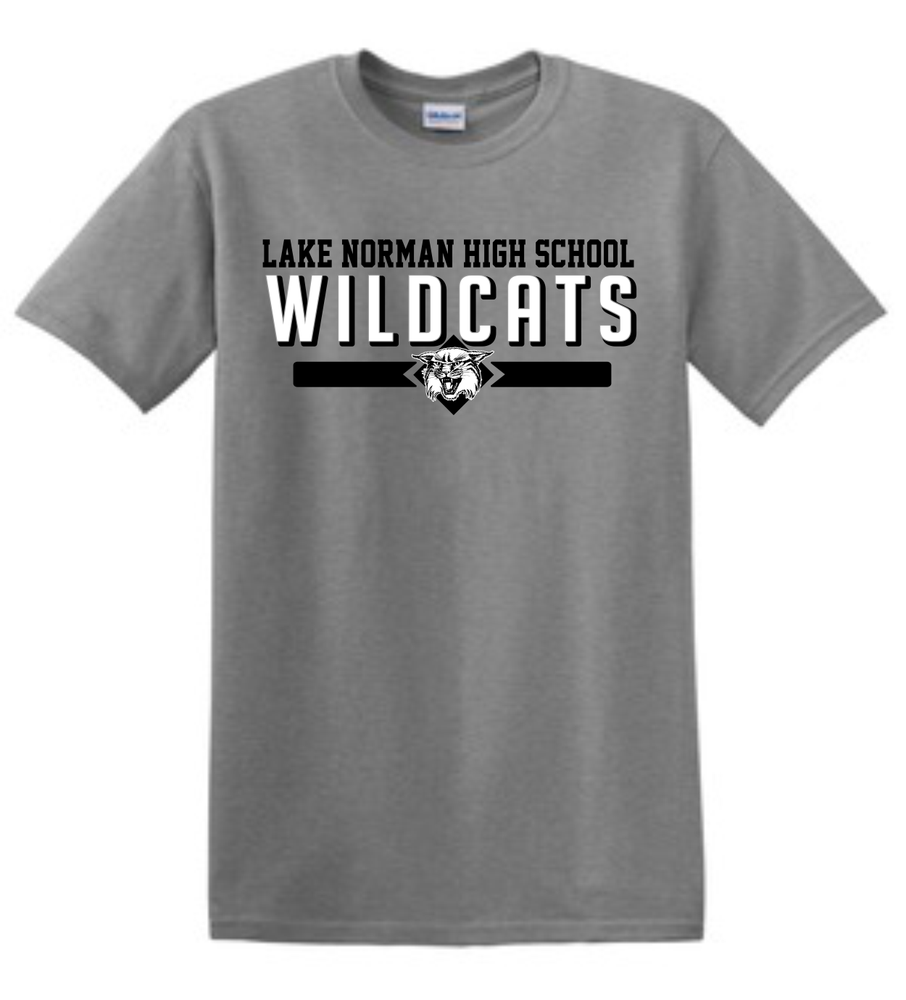 Image of LNHS WILDCATS Classic Tee in Royal or Gray