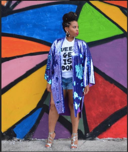 Image of Sequin Kimono