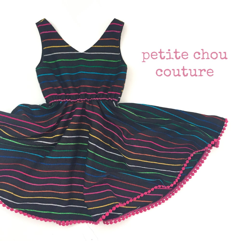 Image of Dark Rainbow - James dress