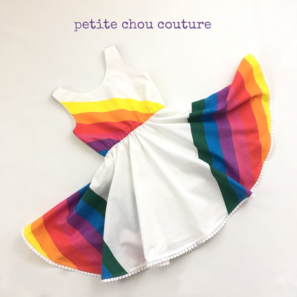 Image of Autumn Rainbow - James Dress