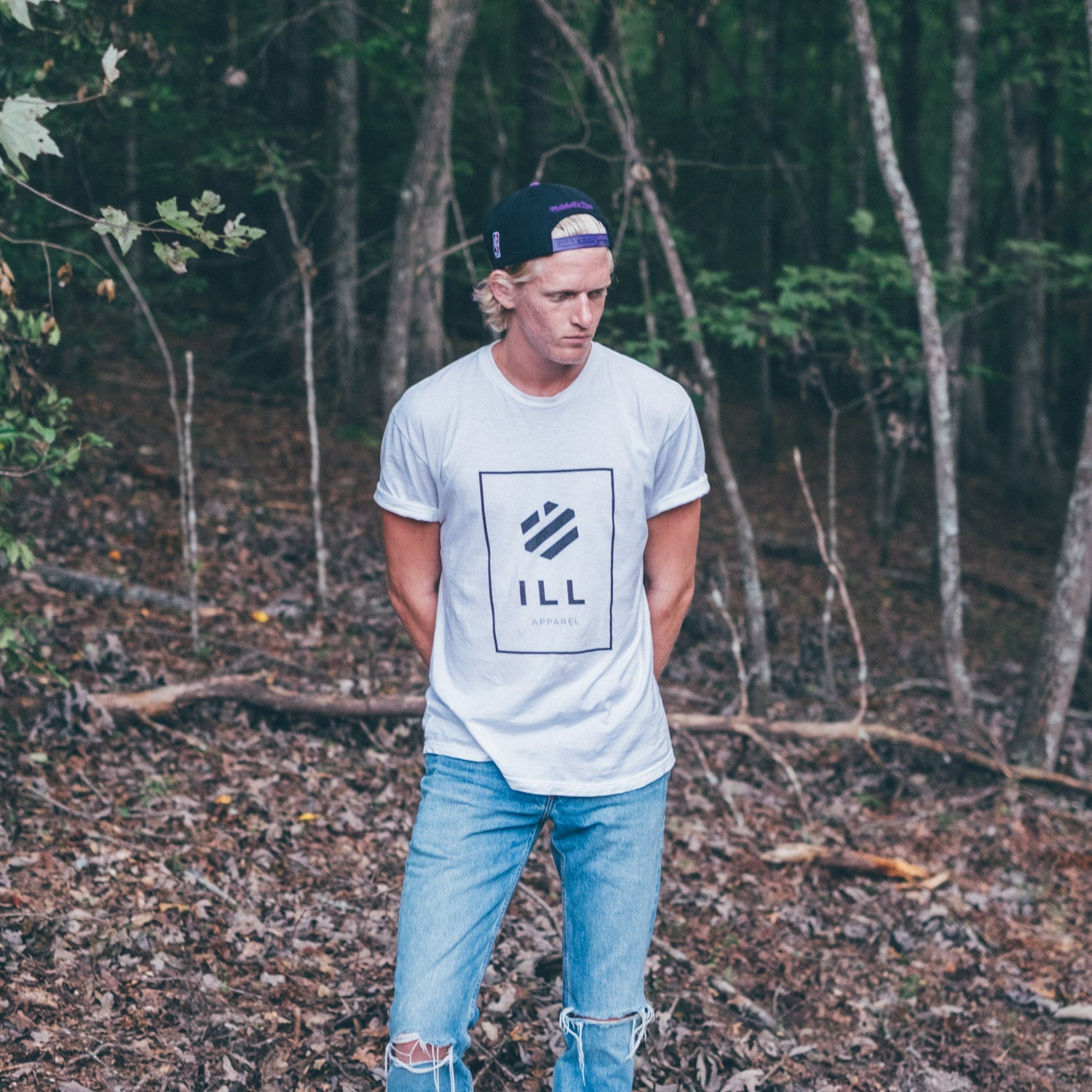 Image of Ill Brand White Tee
