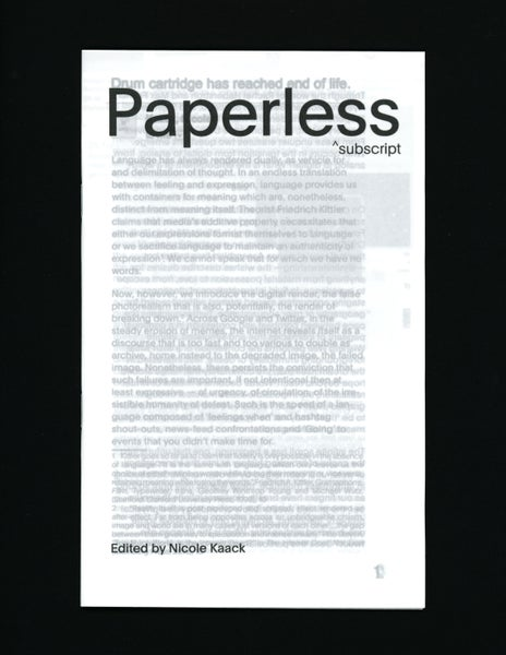 Image of Paperless: Max Fowler, Rachel Haberstroh, Sujin Lee, Nyeema Morgan