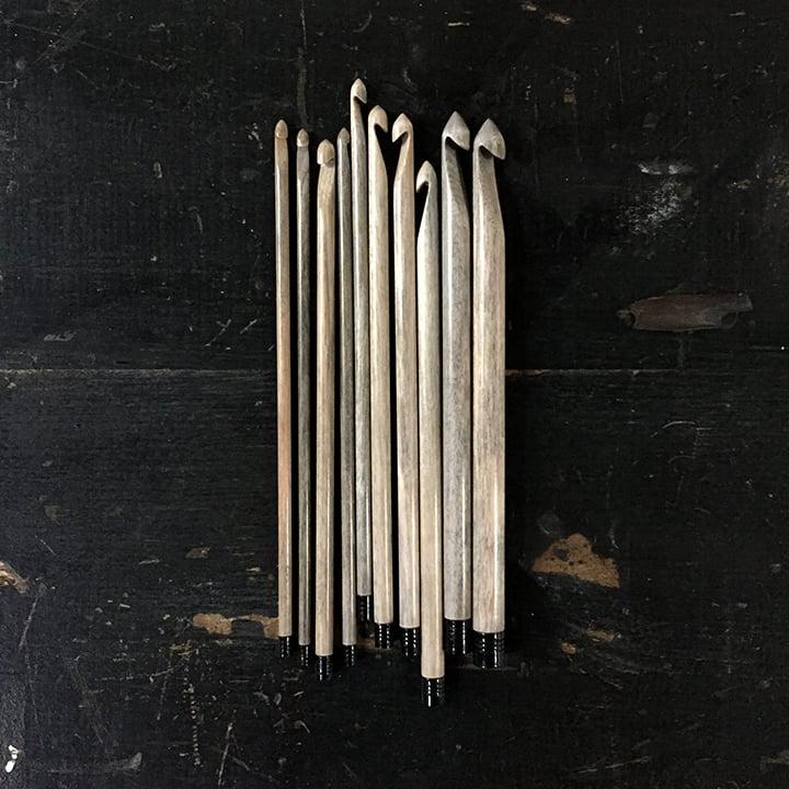 """Image of Lykke """"Driftwood"""" crochet hooks"""