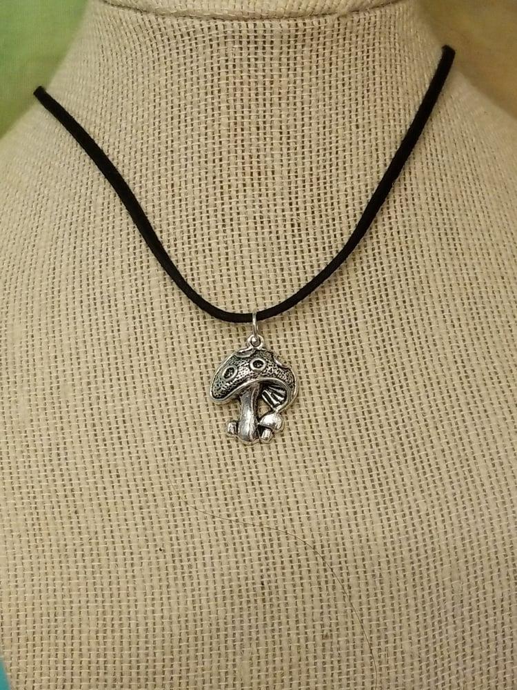 Image of mushroom necklace