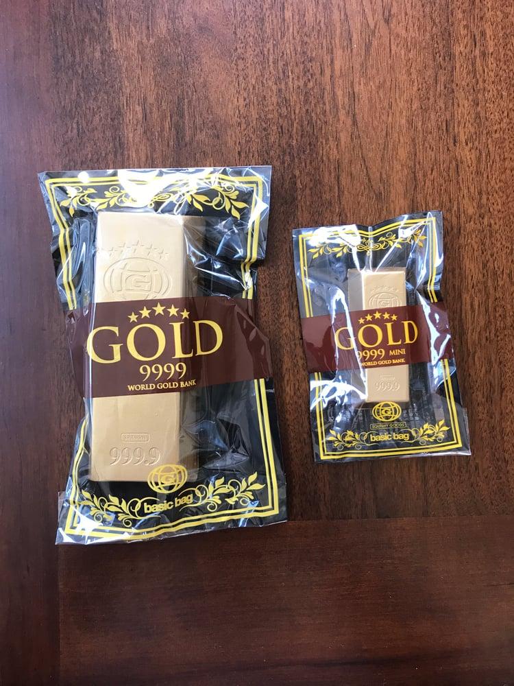 Image of Basic Bag x Ibloom Gold Bar