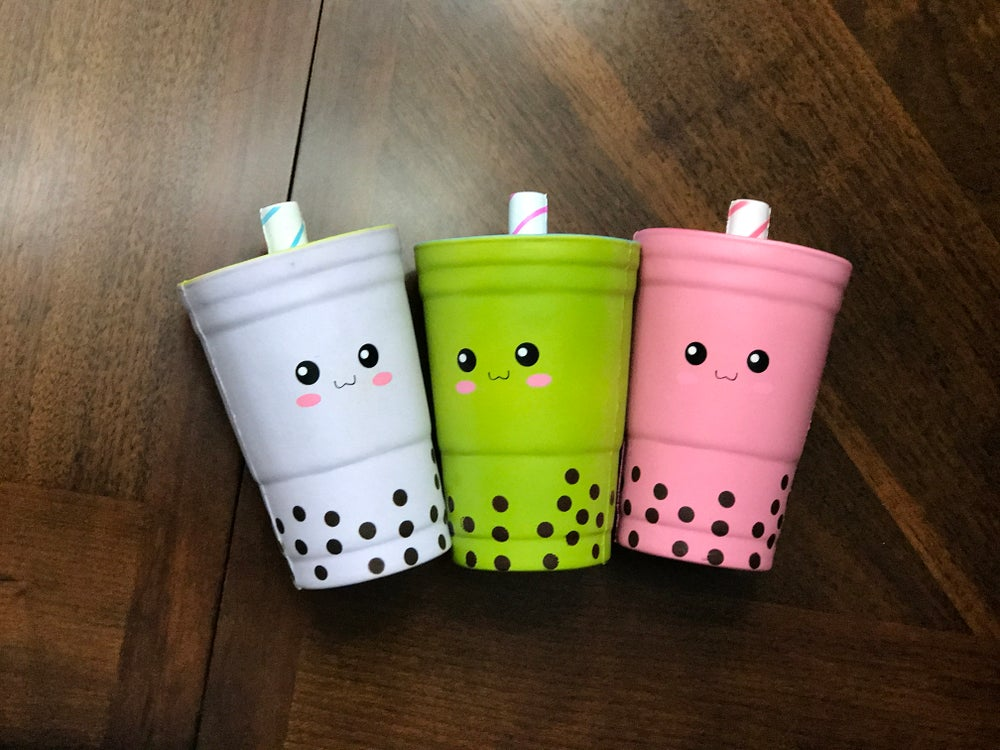 Image of Bubble Tea Squishy
