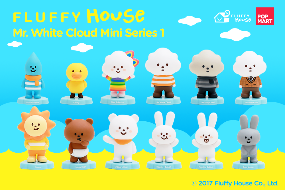 Image of Mr. White Cloud Mini Series 1 (Whole Set)