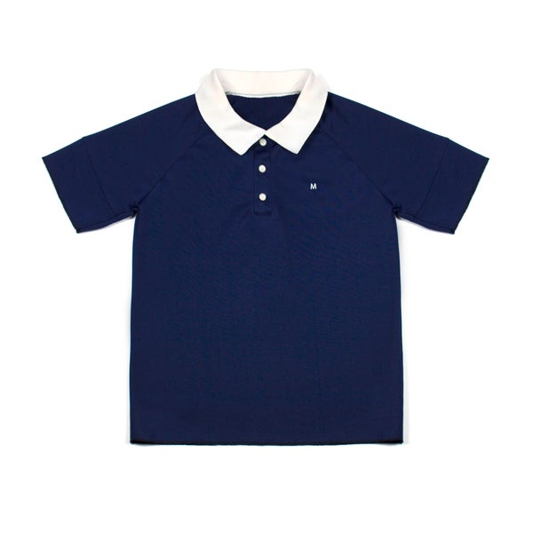 Image of Press Polo Navy