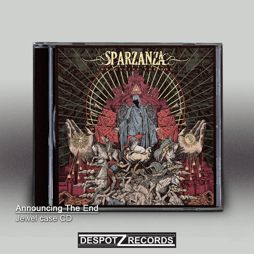 Image of Sparzanza - Announcing The End (Jewel Case CD)
