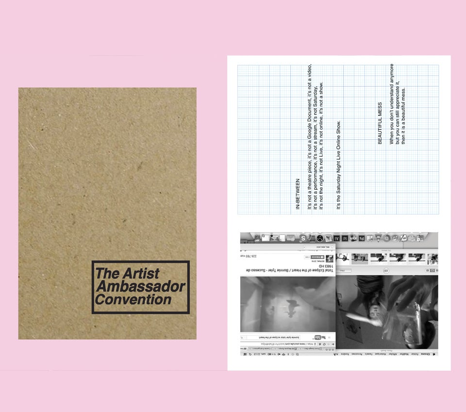 Image of Artist Ambassador Convention Zine
