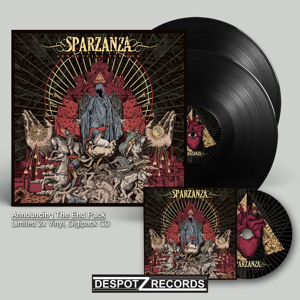 Image of Sparzanza - Announcing The End Pack (CD/2xLP)