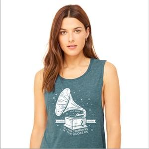 Image of Teal Phonograph Tank