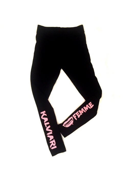 Image of KALVIARI FEMME THIRST TRAP LEGGINGS (3 COLORWAYS)