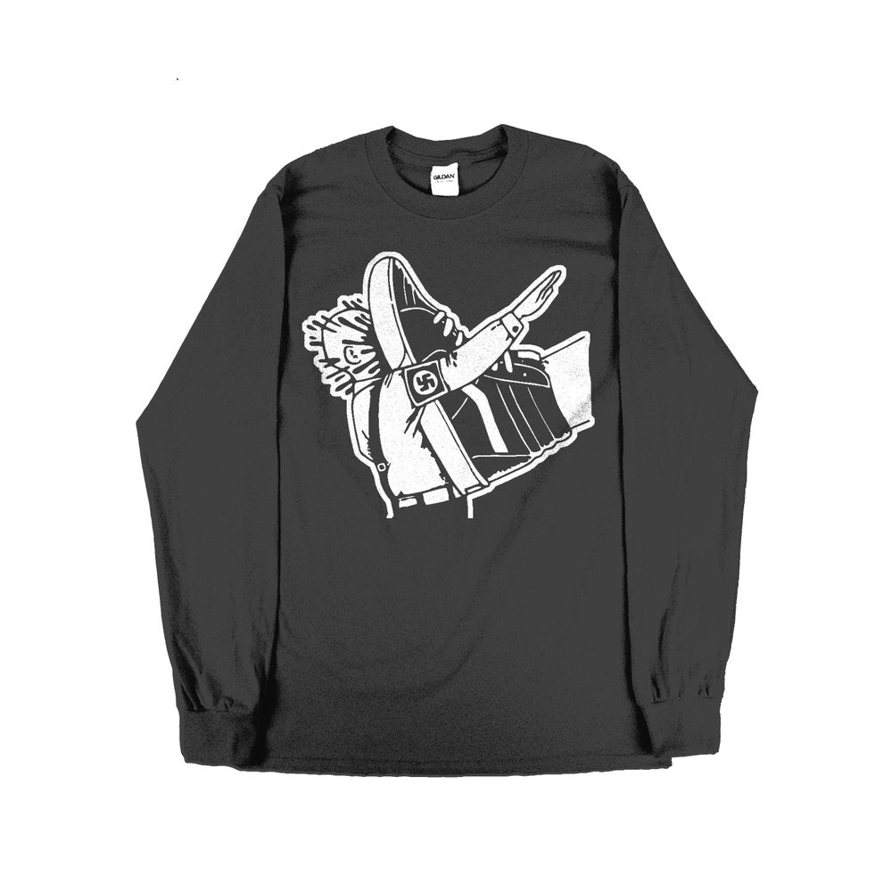 Image of Stamp Out Fascism - Long-sleeve - Black Garment
