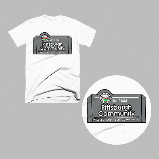 Image of Pittsburgh Community Shirt (White)