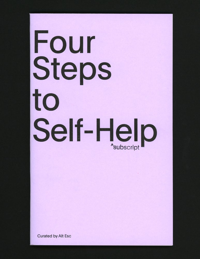 Image of Four Steps to Self-Help