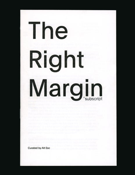 Image of The Right Margin