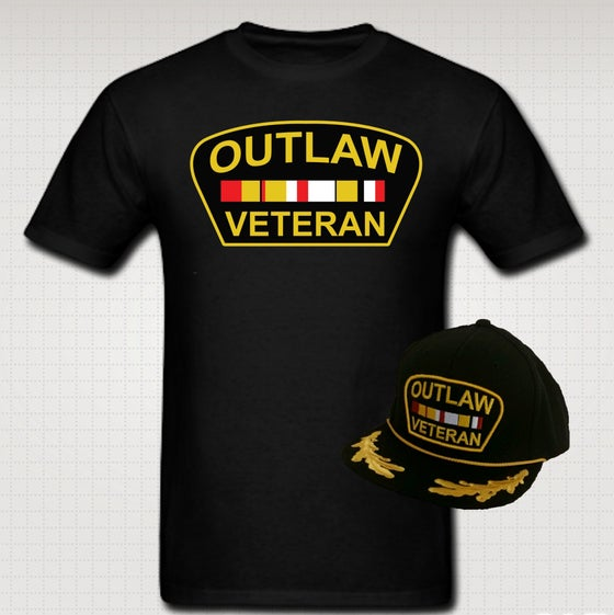 Image of Outlaw Veteran Tshirt