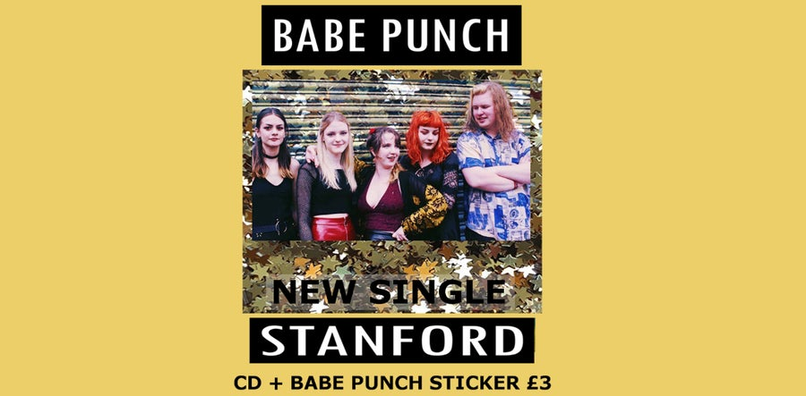 Image of STANFORD Single CD + Sticker
