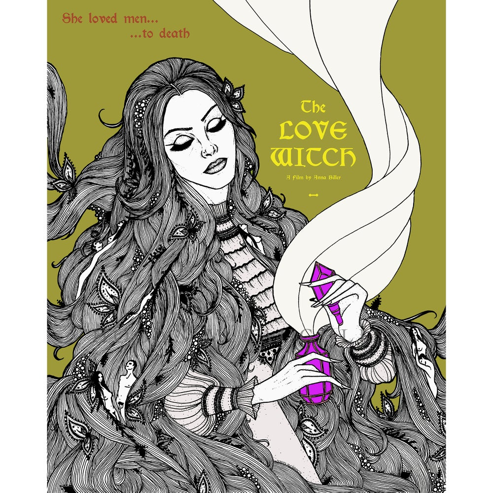 "Image of ""The Love Witch"" Fan Art Giclée Poster"