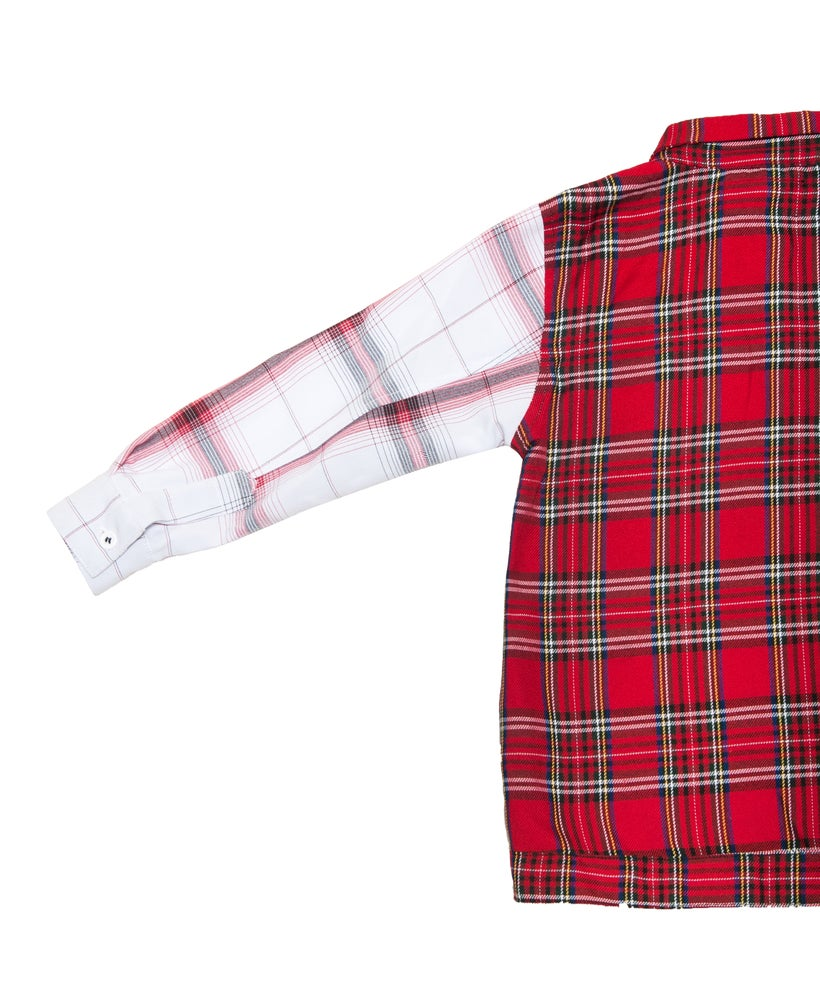 Image of Little Inferno plaid flannel