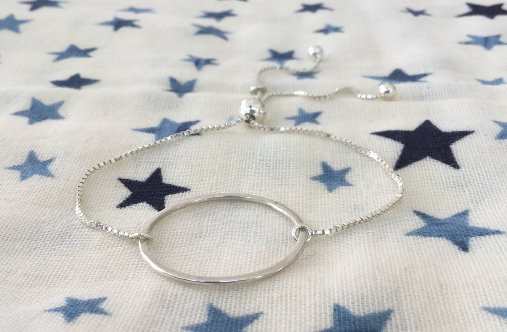 Image of circle of life bracelet with chain