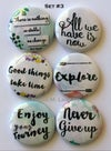 Words of Inspiration  Flair Buttons