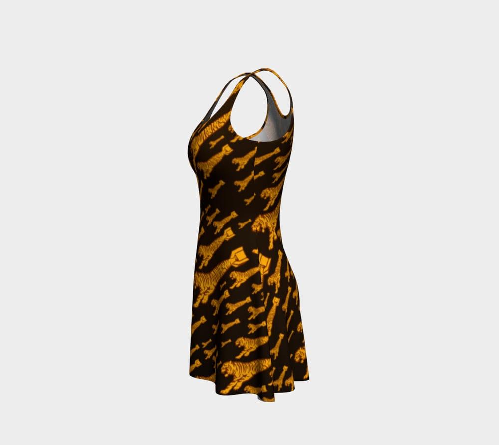 Image of Tiger Bomb! Flare Dress