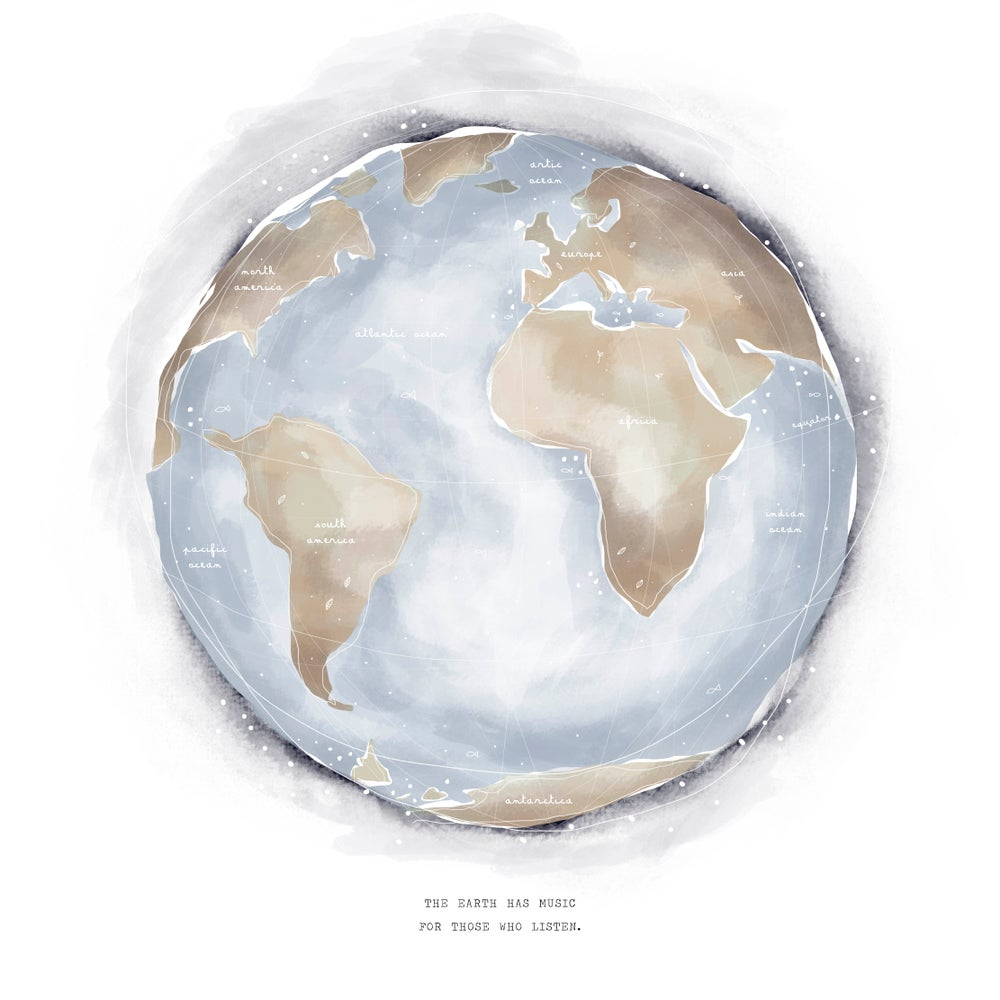 Image of ART PRINT | WORLD