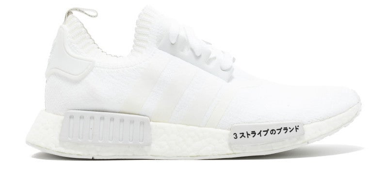 Image of Adidas NMD R1 Primeknit 'Japan Triple White'