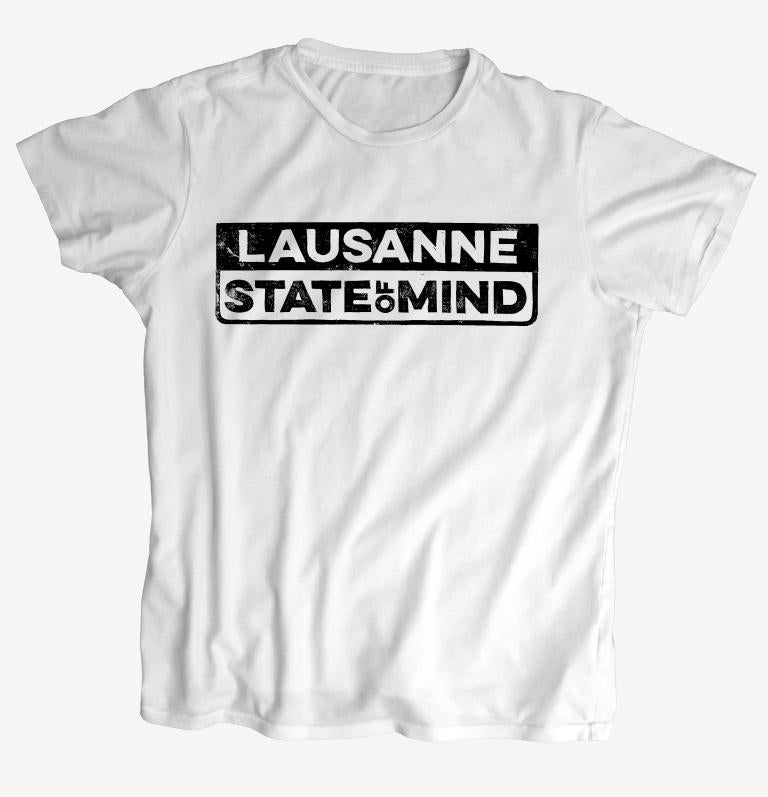 "Image of T-Shirt ""REPREZENT / STATE OF MIND"" - handprinted with love"