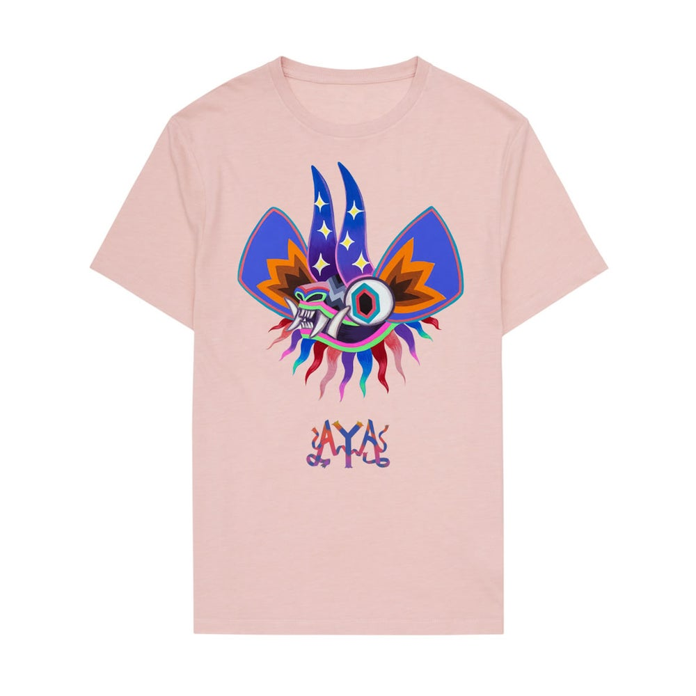 Image of AYA Mask T-Shirt Pink